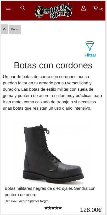 Corbeto's Boots Mobile