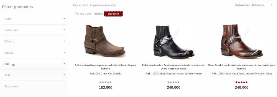 Corbeto's Boots Botas Cowboy
