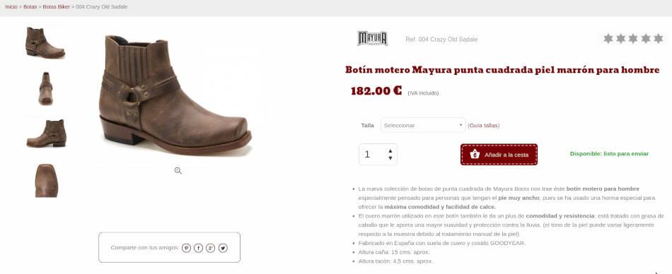 Corbeto's Boots Roba Country